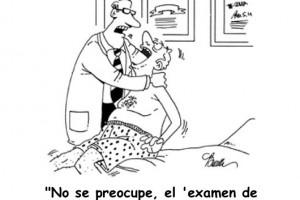 examen de próstata inverso