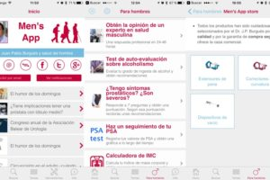 Nueva versión 2.0 de Men's App para iPhone/iPad y Android