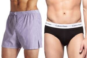 ¿Es mejor llevar un calzoncillo tipo slip o boxer?