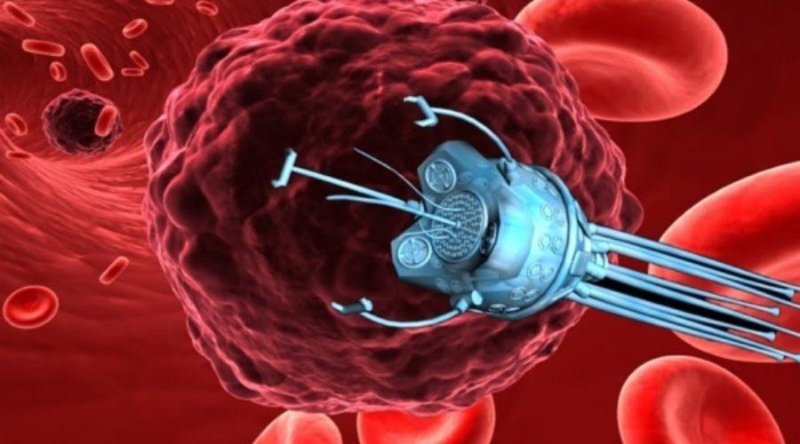 Crean un nanorrobot programado para matar el cáncer