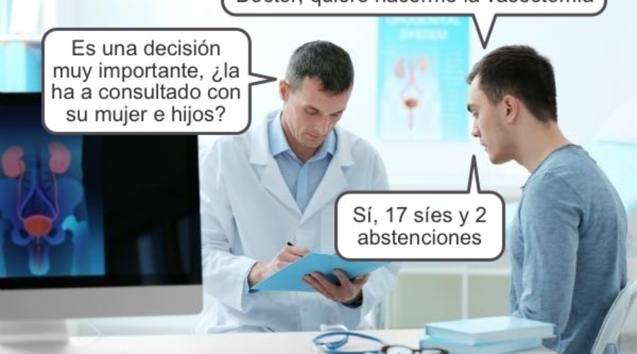 humor vasectomía
