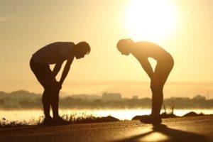 ejercicio físico intenso